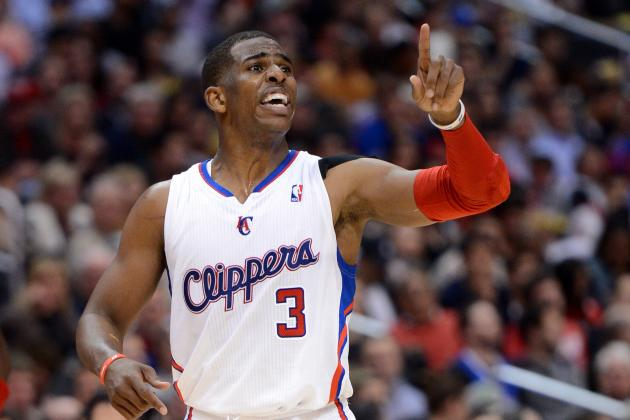 Chris Paul's Most Ridiculous Alley-Oops of the Season