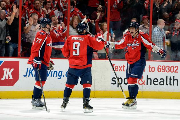 Breaking Down the Capitals' Successful Tandem of Ribeiro and Ovechkin