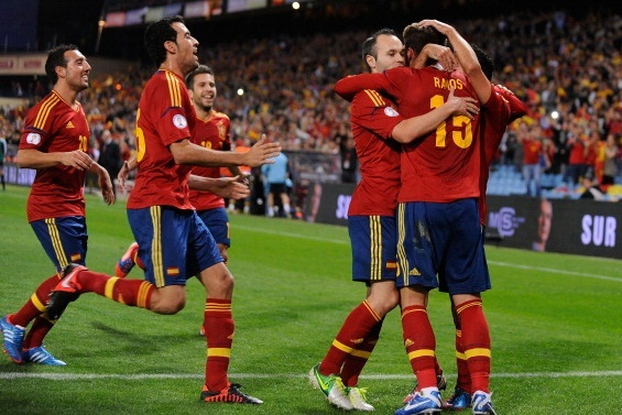 Rating the Spain Players in Their World Cup Qualifying Draw