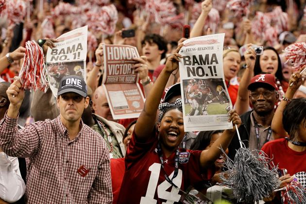 Alabama Football: 5 Ways You Know You Are a Crimson Tide Fan