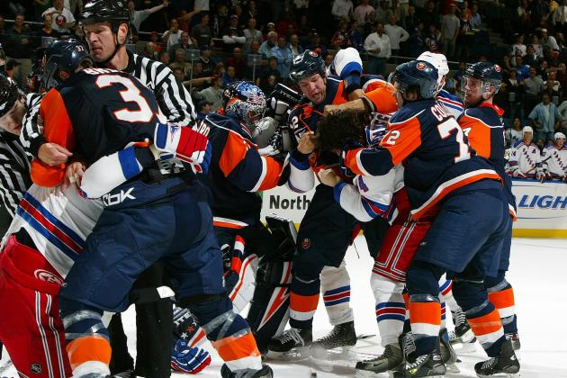 The 10 Craziest Fights in NHL History