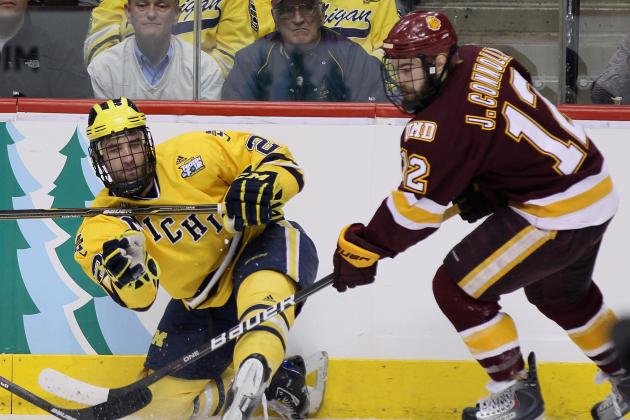 Finalists for College Hockey's 2013 Hobey Baker Memorial Award Announced