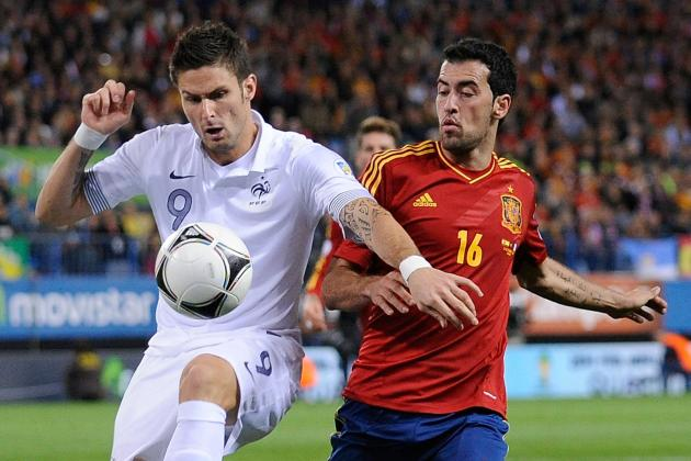 France vs. Spain: 4 Key Battles to Watch