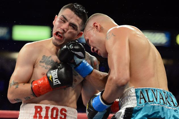 Brandon Rios vs. Mike Alvarado II: Head-to-Toe Breakdown