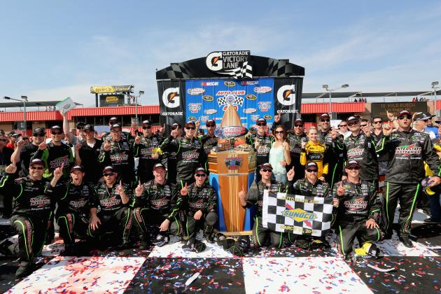 Winners and Losers from NASCAR Sprint Cup Series at California