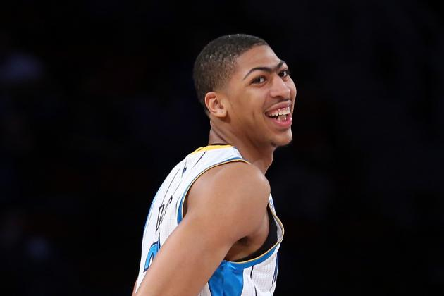 Biggest Moments from Anthony Davis' Rookie Year so Far