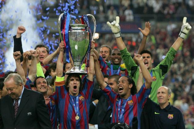 Carles Puyol's 5 Most Memorable Moments at Barcelona