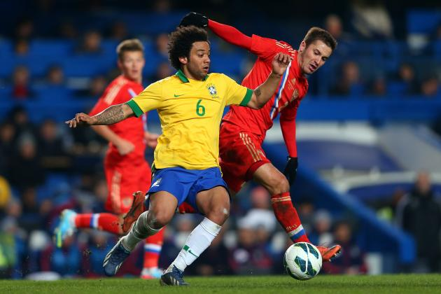 Brazil vs. Russia: 6 Things We Learned from International Friendly