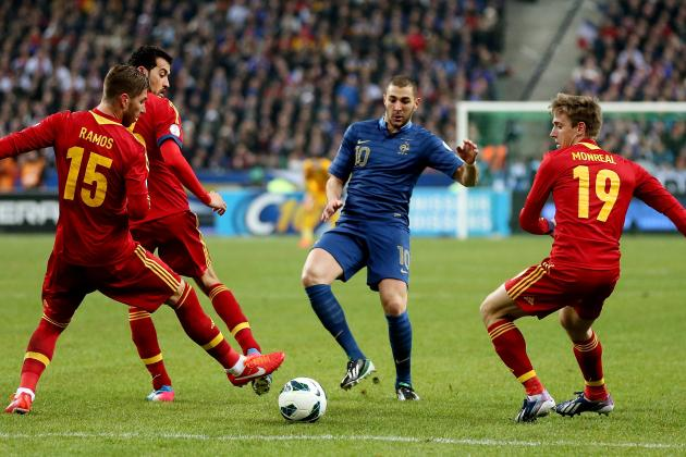 Grading the Spain Players in Their World Cup Qualifier Against France