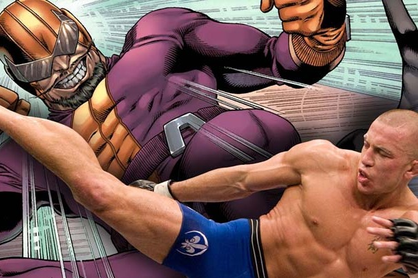 Comic Book Movie Super Villains and Their MMA Dopplegangers