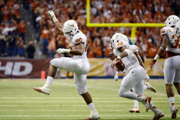 What We Learned from 2013 Texas Football Pro Day