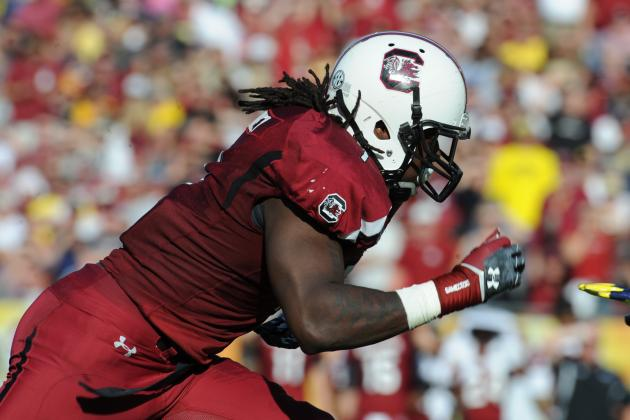 Should Steve Spurrier Let Jadeveon Clowney Play on Offense in 2013?
