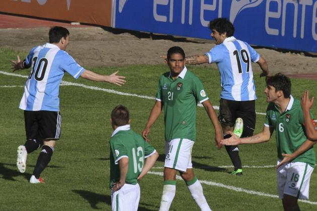 Bolivia vs. Argentina: 6 Things We Learned from World Cup Qualifier