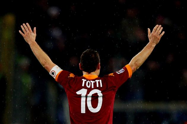 Francesco Totti and the 10 Most Iconic Serie A Players of the Last 20 Years