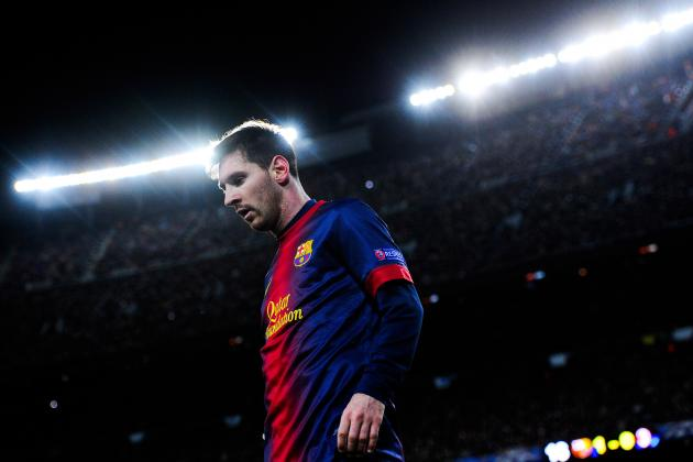 10 Lionel Messi Moments to Marvel at from the 2012-13 Season