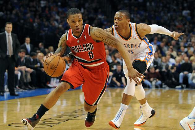 Biggest Moments from Damian Lillard's Rookie Year so Far