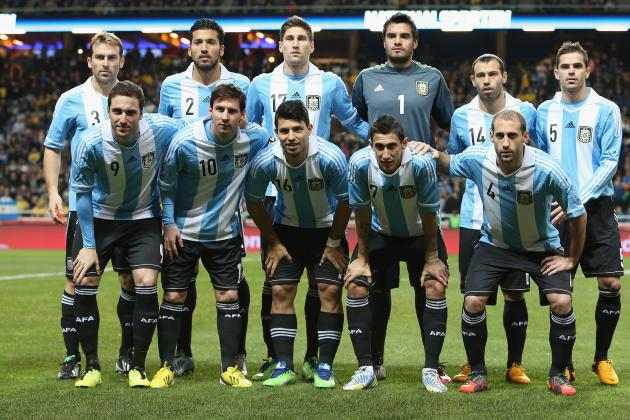 Predicting the Argentina Starting XI at World Cup 2014