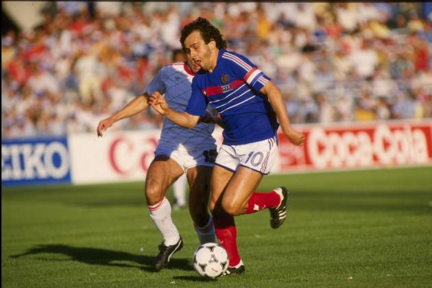 Platini, Vieira and the 10 Best French International Midfielders of All Time