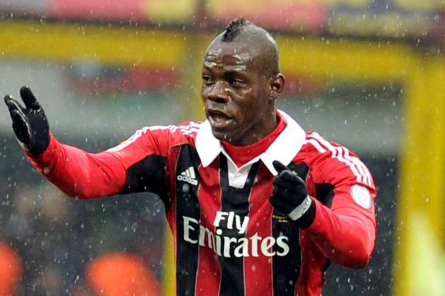 Mario Balotelli: Game-by-Game Assessment of His AC Milan Contribution so Far