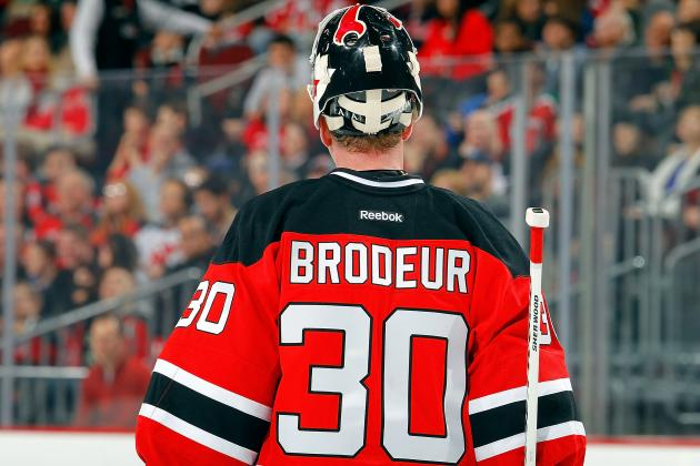 Grading Martin Brodeur's Performance Since Return from Injury