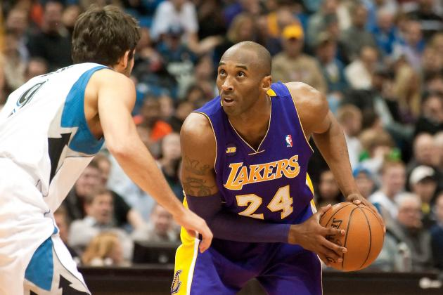 NBA Injury Report: Latest on Kobe Bryant, Ty Lawson, Kevin Garnett and More
