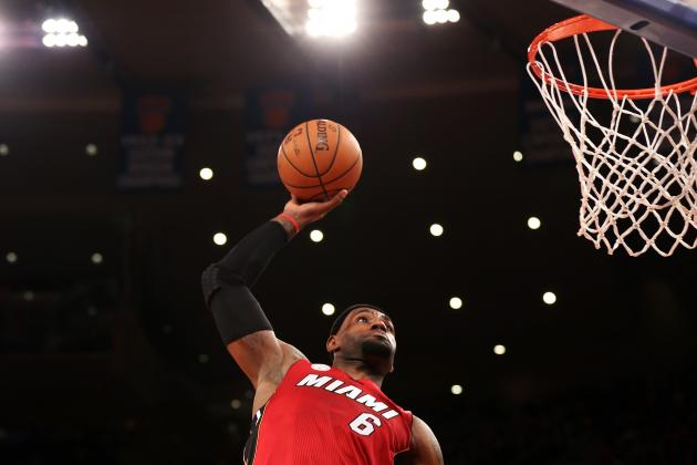 LeBron James' Most Rim-Rattling Dunks So Far This Season