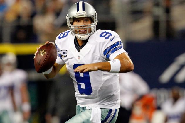 Tony Romo: Inside Look at Dallas Cowboys QB's Value by the Numbers