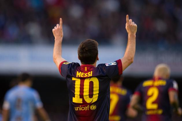 Messi Scores Against All of La Liga in a Row: 3 Takeaways from Barca's Draw