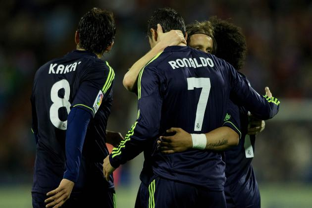 Rating the Real Madrid Players in Their Draw with Real Zaragoza