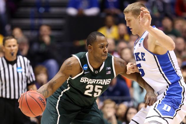 Michigan State Basketball: Final Report Card for Spartans' 2012-13 Season