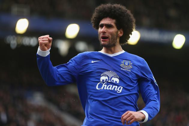 Everton FC: 5 Benefits to Marouane Fellaini's Potential Departure