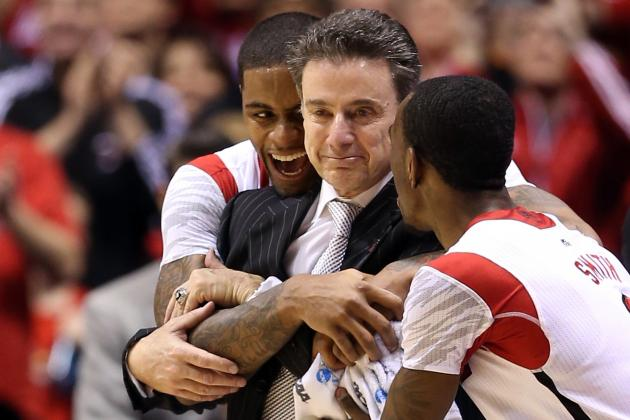Louisville vs. Wichita State: 4 Advantages Rick Pitino Has over Gregg Marshall