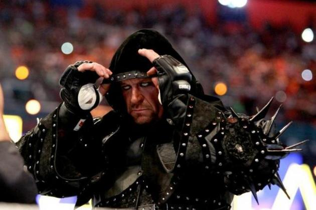 Where The Undertaker's Win vs. CM Punk Ranks in His WrestleMania Streak