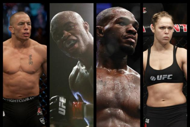 MMA: Predicting a World Where Every Current UFC Champion No Longer Exists