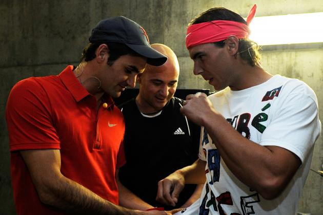 Rafael Nadal, Roger Federer and 16 Greatest  French Open Champions in One Draw