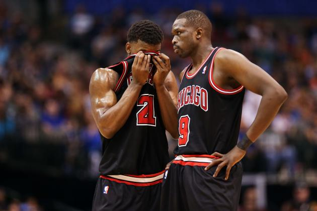 Who Should Be Chicago Bulls' Clutch 5 in NBA Playoffs?