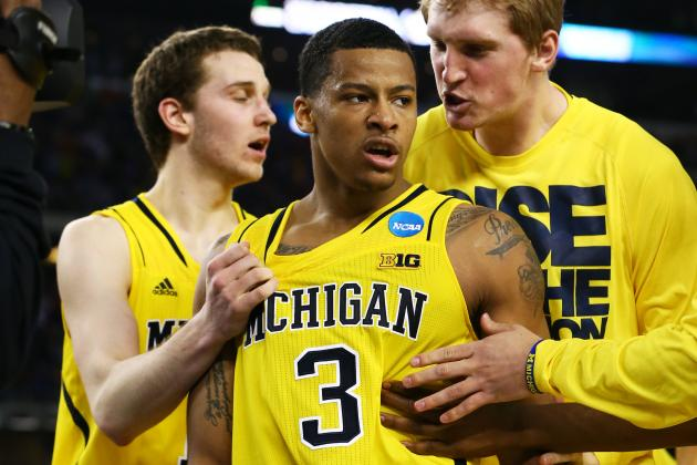 Michigan vs. Syracuse: NBA Comparison for the Starters in Final Four Showdown