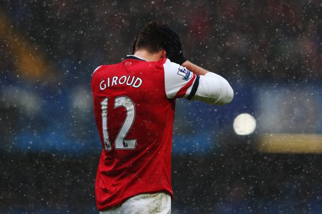 Arsenal FC: Why Hating on Olivier Giroud Is Irrational