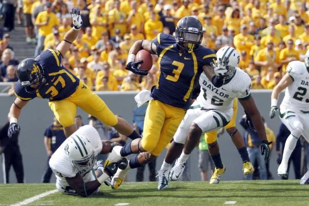 Stedman Bailey: Video Highlights for Former West Virginia WR
