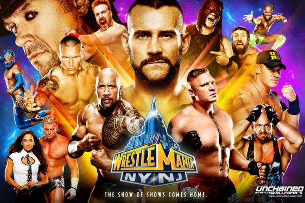 WWE: Ranking the Matches at WrestleMania 29 on Potential Quality of the Match