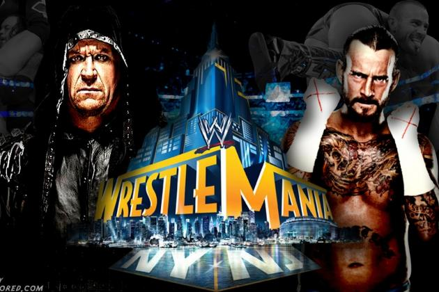 WWE WrestleMania XXIX: 4 Reasons Why Undertaker vs. CM Punk Could Disappoint