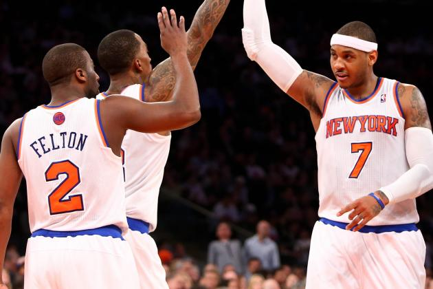 Who Should Be NY Knicks' Clutch 5 in NBA Playoffs?