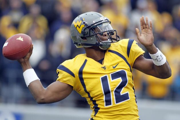 Geno Smith Reportedly a Top-5 Lock: Who's the Favorite to Draft the QB?