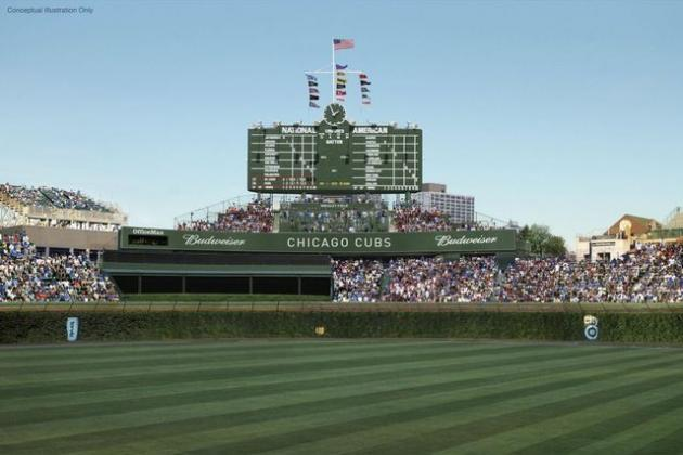 5 Things You Need to Know About Cubs' $500 Million Wrigley Field Renovation