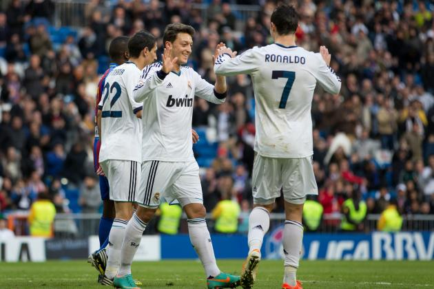 Rating the Real Madrid Players in Their 5-1 Victory over Levante
