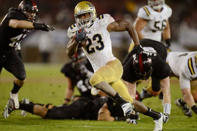 Johnathan Franklin: Video Highlights for Former UCLA RB