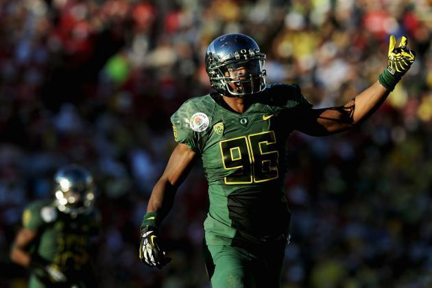 Dion Jordan: Video Highlights for Former Oregon DE/OLB