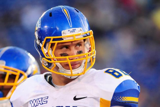 Ryan Otten: Video Highlights for Former San Jose State Tight End