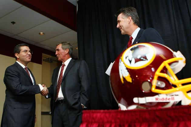 5 Largest Salary Cap Hits for the Washington Redskins in 2013