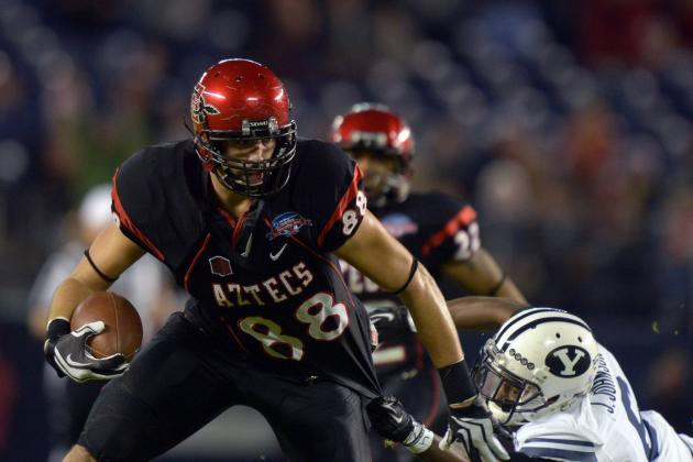 Gavin Escobar: Video Highlights for Former San Diego State Tight End